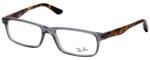 Ray Ban Designer Glasses Glossy Crystal Smoke/Havana Tortoise RB5277-5629-54 mm