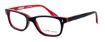 Ernest Hemingway Designer Eyeglasses H4617 in Black-Red 56mm :: Custom Left & Right Lens