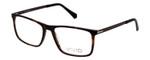 Vivid Designer Reading Eyeglasses 891 Matte Demi/Amber/Brown 55 mm Bi-Focal
