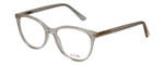 Vivid Designer Reading Eyeglasses Splash 75 in Clear Sparkle 52 mm Custom Lens