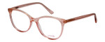 Vivid Designer Reading Eyeglasses Splash 75 in Pink Sparkle 52mm Bi-Focal
