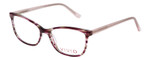 Vivid Designer Reading Eyeglasses 893 Marble Wine Red/Purple 52 mm Custom Lens