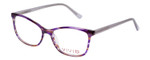 Vivid Designer Reading Eyeglasses 893 Marble Purple/Lavender 52 mm Custom Lens