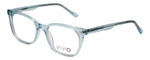 Vivid Designer Reading Eyeglasses 912 Crystal Blue Clear 51 mm