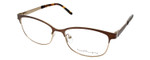 Ernest Hemingway H4686 Unisex Blue Light Blocking Filter+A/R Lenses Brown 51 mm