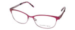 Ernest Hemingway H4686 Semi-Rimless Eyeglasses in Burgundy/Red 51 mm RX SV
