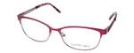 Ernest Hemingway Women's H4686 Semi-Rimless Eyeglasses in Burgundy/Red 51 mm