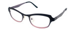 Cinzia Designer Eyeglasses Hey Doll C2 in Black Pink 46mm :: Rx Bi Focal