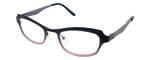 Cinzia Designer Eyeglasses Hey Doll C2 in Black Pink 46mm :: Rx Single Vision