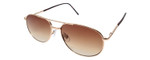 Calabria 1110AP Metal Aviator Full Lens Reading Sunglasses