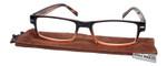 Calabria Jordan 2 Rectangular Designer Reading Glasses 50mm