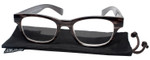 Calabria Drew Square Designer Reading Glasses 48mm