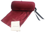 Gucci Hard Velvet Eyeglass/Sunglass Case in Red