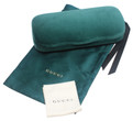 Gucci Hard Velvet Eyeglass/Sunglass Case in Green