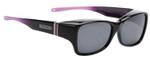 Jonathan Paul Fitovers Sunset Twilight Large Over Sunglasses Black Purple & Grey
