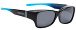 Jonathan Paul Fitovers Sunset Twilight Over Sunglasses Black Sapphire Blue&Grey