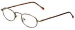Calabria FlexPlus 62 Ant Gold Amber Reading Glasses