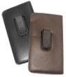 Mens Soft Slip-In Case w/ Plastic Clip Medium Sized