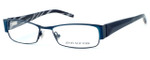 Jones New York Designer Eyeglasses J446 Teal :: Custom Left & Right Lens