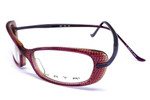 Kata Designer Eyeglasses KD6-VlO in Purple :: Custom Left & Right Lens