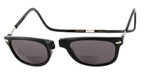 Clic Ashbury Wide Fit in Black Polarized Bi-Focal Reading Sunglasses