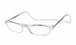 Clic Magnetic Eyewear Long Fit Original Style in Clear :: Rx Single Vision