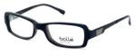 Bollé Bastia Designer Eyeglasses in Shiny Black Grey :: Rx Bi-Focal