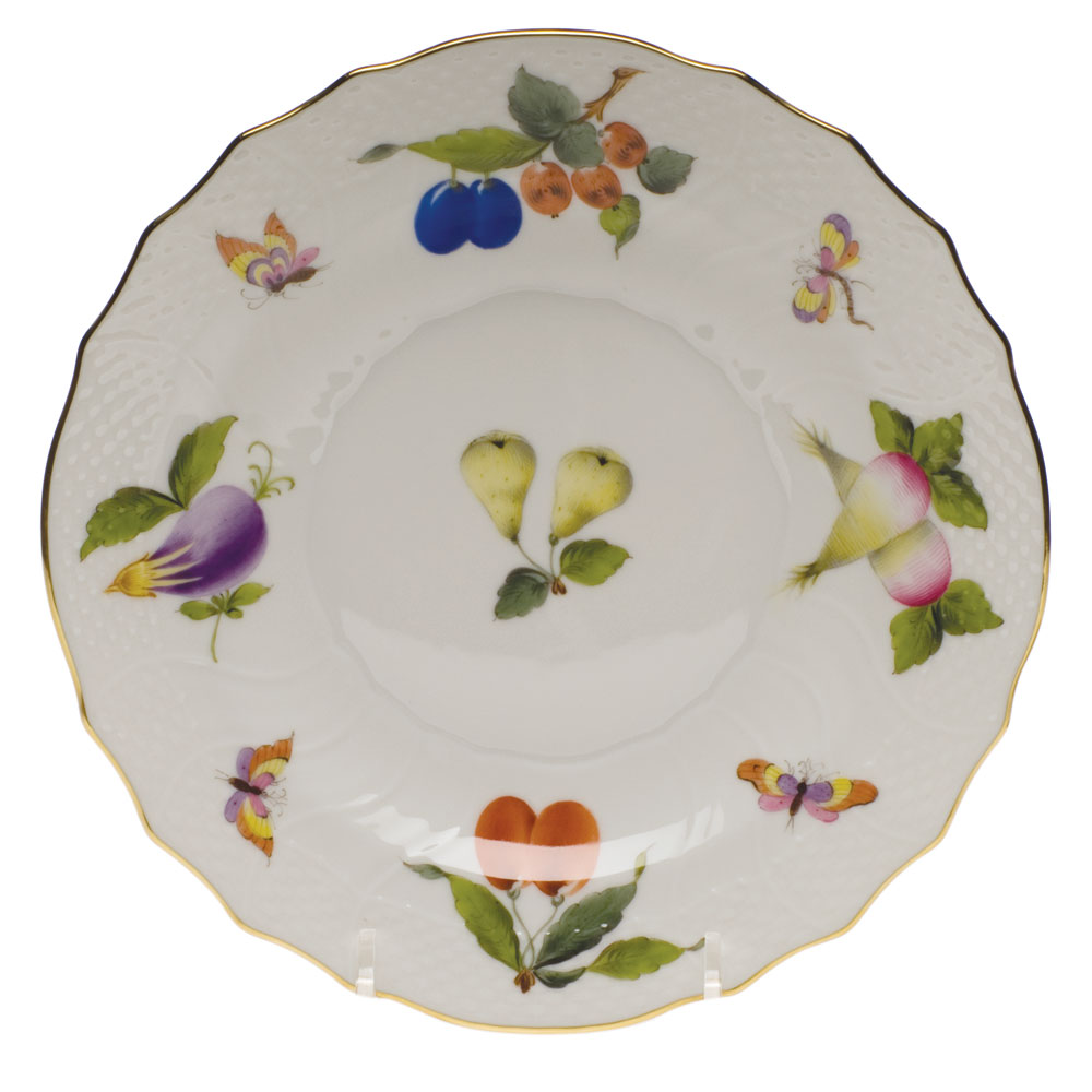 Herend Market Garden Salad Plate 7 5 In Fr 01518 0 00 Nehas China Crystal