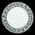 Wedgwood Florentine Platinum Dinner Plate 10.75 in 50177601004