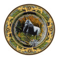 Versace Le Regne Animal Wall Plate 7 in Bob.Gorilla 19325-403666-20018