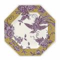 Spode Kingsley Octagonal Plate Ochre 9.5 in 1685406