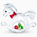Swarovski  Rocking Horse Happy Holidays 2.1x1.75x.5 in 2020 5544529