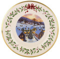 Lenox Annual Holiday Collector Plate 10.5 in 22nd in Series 2012 829680