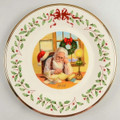 Lenox Annual Holiday Collector Plate Santa's List 10.5 in 26th in Series 2016 863061