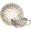 Gien Toscana Breakfast Cup & Saucer 1457TDEJ26, 1457SDEJ26