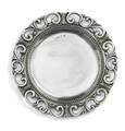 Arte Italica Donatello Pewter Charger 13 in DON0307