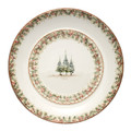 Arte Italica Natale Round Platter, Large 19 in NAT6885
