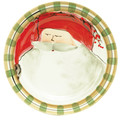 Vietri Old St. Nick Dinner Plate 10.75 in. OSN_7800A