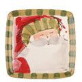 Vietri Old St. Nick Square Salad Plate 8.25 in. OSN_7801D