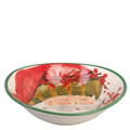 Vietri Old St. Nick Oval Bowl 8x7 in. OSN_7804D