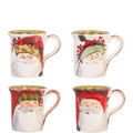 Vietri Old St. Nick Assorted Mug 14 oz. OSN_7810