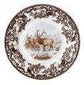 Spode Woodland Elk Salad Plate 8 in.
