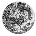 Royal Crown Derby Black-Aves-Platinum-Dinner-Plate-10-in BLAVP00100