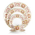 Royal Crown Derby Derby-Panel-Red-5-piece-place-setting DERPA09814