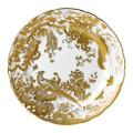 Royal Crown Derby Gold-Aves-Service-Plate-12-in AVEGO07107