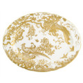 Royal Crown Derby Gold-Aves-Oval-Platter-15-in. AVEGO00108