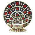 Royal Crown Derby Old-Imari-5-piece-place-setting JAPAN09814