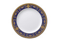 Versace Medusa Blue Dinner Plate 10.5 in