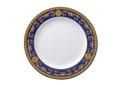 Versace Medusa Blue Dinner Plate 10.5 in