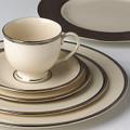 Lenox Tuxedo Platinum Cup & Saucer